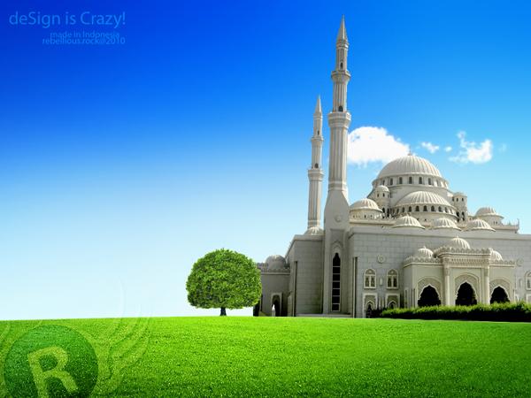 Kartun Masjid W 600 | Pelauts.Com