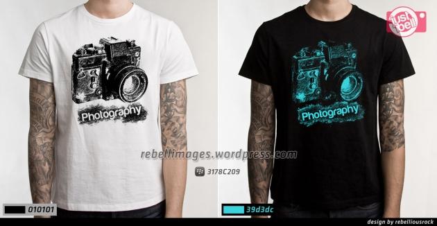 Desain Kaos photography